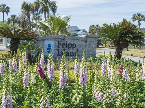 Entry to Fripp Island