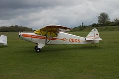 G-CDCS Piper PA-12 (12-2907) Popham 030510