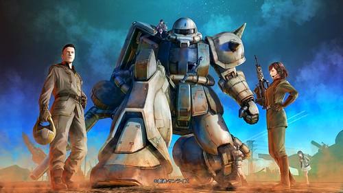 Gundam Battle Operation 2 - Key Visual by Hideki Tenji