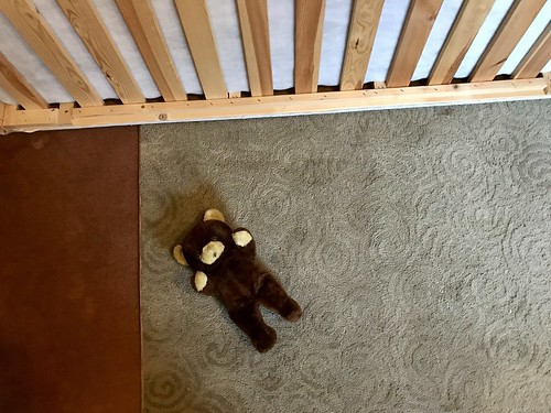 The Estate Sale: who's teddy is in the upstairs bedrooom?