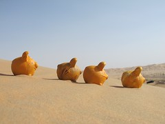 the PIGGY desert adventure, Abu Dhabi, United Arab Emirates