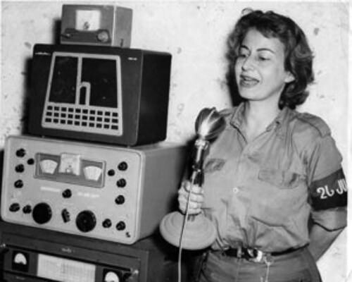 La actriz abandonó la fama en los escenarios teatrales para unirse a los guerrilleros cubanos  - Créditos: Reproducción