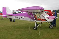 G-CDXD Medway SLA-100 (070306)  Popham 030808