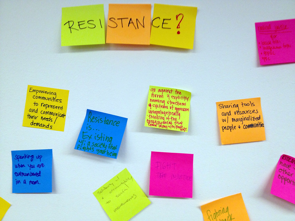 Resistance Through Research