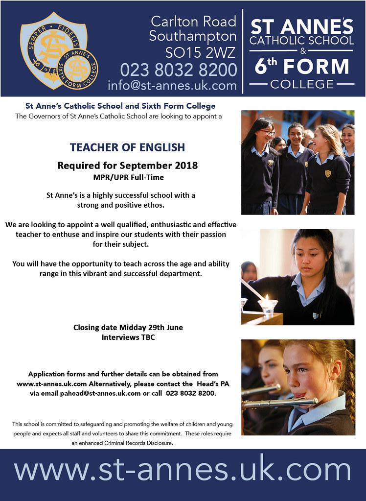 Teacher of english 2nd v4
