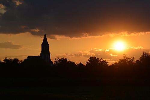Church on sunset ⛪