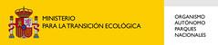 Logotipo OAPN Ministerio para la transición ecológica