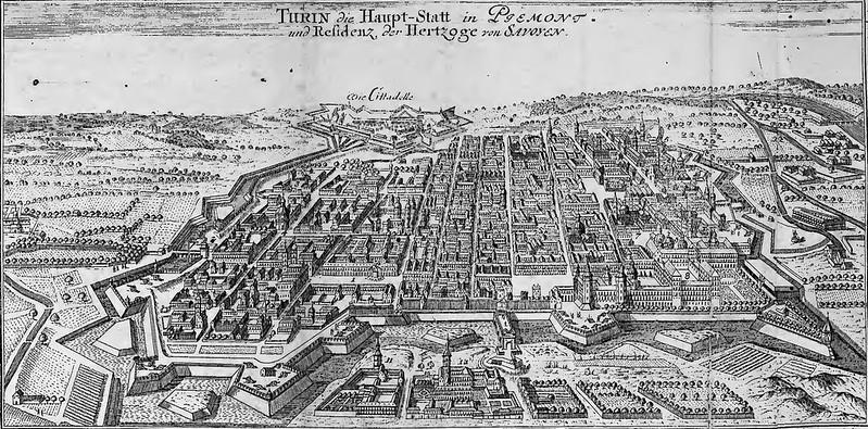 Gabriel Bodenehr - Curioses Staats- und Kriegs-Theatrum Dermahliger Begebenheiten in Savoyen (c.1706)