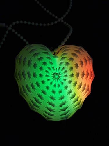 Digital Fancies: AnemoneStarHeart EEG Pendant