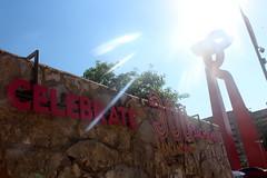 San Antonio - Downtown:  La Antorcha de la Amistad