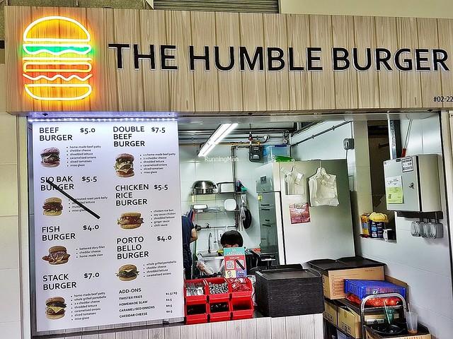 The Humble Burger Facade