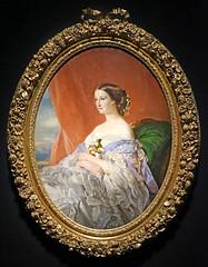 L'Impératrice Eugénie par J.-B. Tissier (Institut du monde arabe, Paris)