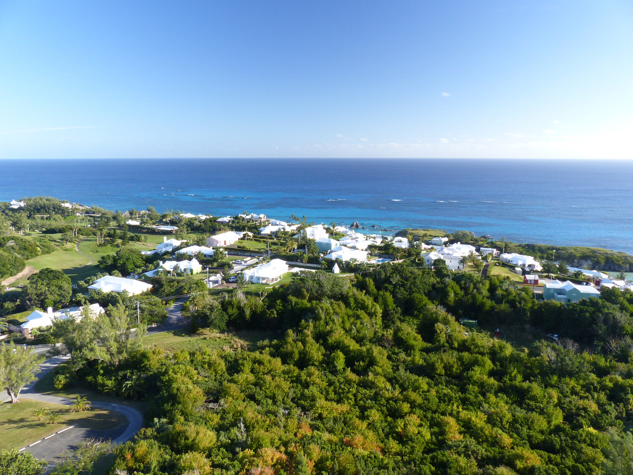 View from Gibbs Hill Lighthouse.