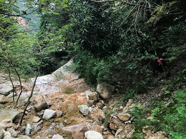 仙ヶ岳 白谷道 滝巻き