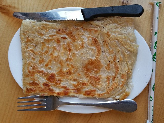 2018-Apr-8 Amay's House - roti prata (single side order)