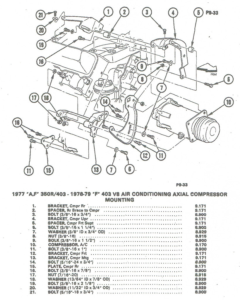 Oldsmobile 350 Wiring Diagram Library Ac 403 Compressor Mounting By Aus78formula On Flickr