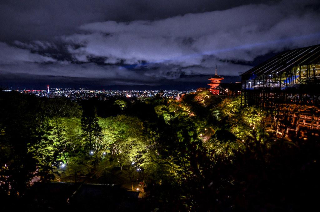 Kiyomizu-dera Kyoto view