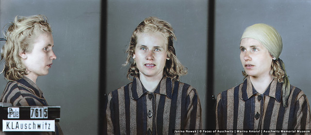 Faces Of Auschwitz: Janina Nowak