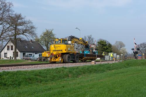 Varsseveld-Terborg vervanging spoorstaven 2