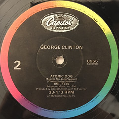 GEORGE CLINTON:MAN'S BEST FRIEND(LABEL SIDE-B)
