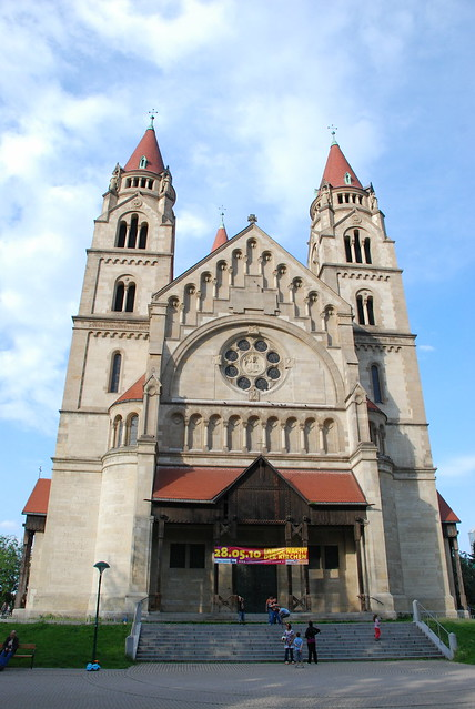 St. Francis of Assisi Church in Vienna