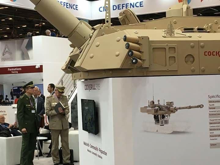 افتتاح معرض  Eurosatory 2018 الدولي للدفاع والأمن بباريس 40948654430_bb84305e46_b