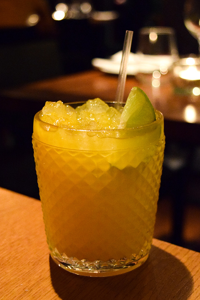 Mango Caipirinha at Roti Chai, Marylebone #indian #smallplates #marylebone #london