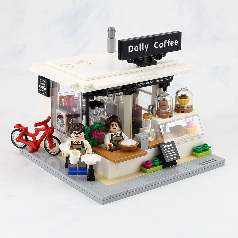 [MOC分享] DOLLY COFFEE