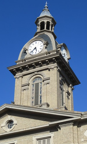 Franklin County Courthouse Tower (Brookville, Indiana)
