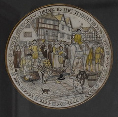 cartoon: giving drink to the thirsty (Margaret Agnes Rope, for the enclosure at Tyburn, London)