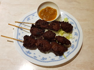 Satay Skewers at Tea Master