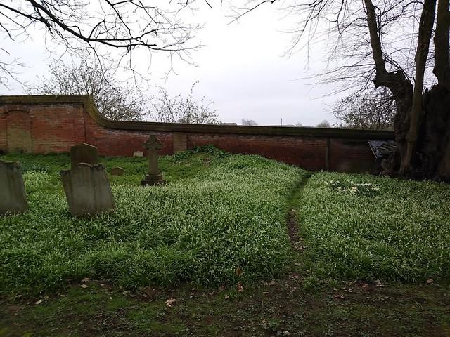 St Peter's churchyard, Tewin