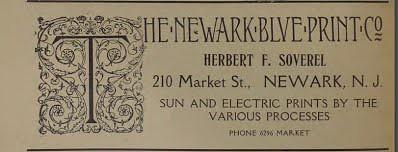 SOVERELL, HERBERT F 1922 ad
