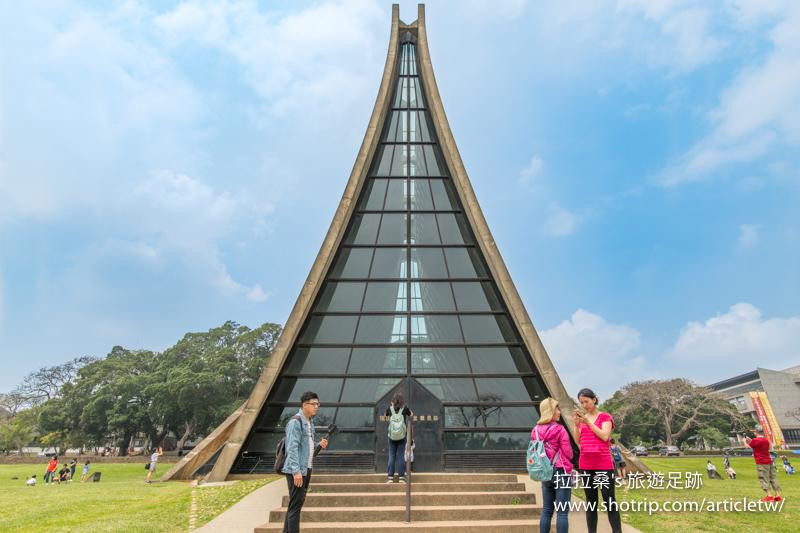 台中東海大學,四季都好拍的路思義教堂、新鮮消暑的乳品小棧冰品,一起走入迷人的寬闊校園,來趟悠閒的半日遊