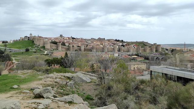 Vue sur  Avila - Castille - Espagne