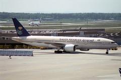 Saudi Arabian Airlines Boeing 777-268/ER HZ-AKK