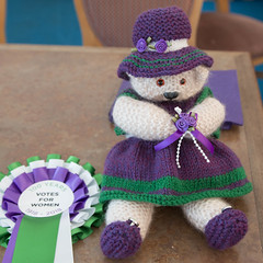 Suffragette teddy