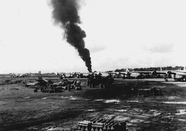 B-24 Crash at Lipa