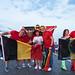 Belgian fans in Moscow