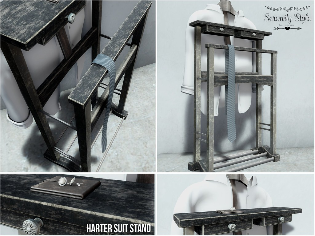 Serenity Style-Harter Suit Stand