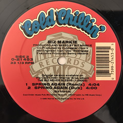 BIZ MARKIE:SPRING AGAIN(LABEL SIDE-B)