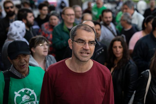 Juicio contra el activista Jorge Aranda