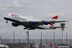 A380 G-XLED London Heathrow 15.06.18