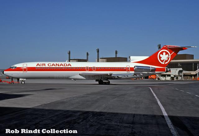 Air Canada B727-233/Advanced C-GYNA