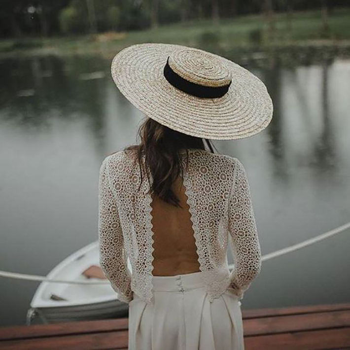 straw hat outfits for this summer trend 2018 style fashion tendencias5