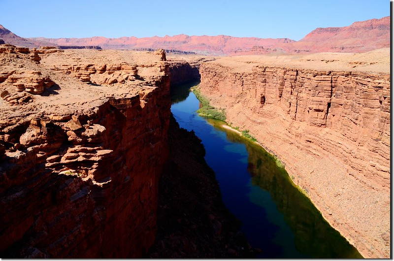 A panoramic view of Marble Canyon from Navajo Bridge (2)