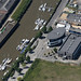 Wisbech - The Boathouse Business Centre aerial image