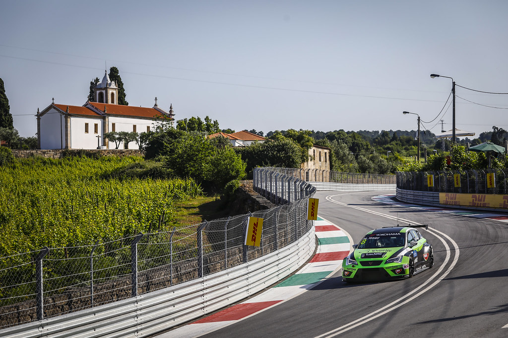 08 NAGY Norbert, (hun), Seat Cupra TCR team Zengo Motorsport, action during the 2018 FIA WTCR World Touring Car cup of Portugal, Vila Real from june 22 to 24 - Photo Francois Flamand / DPPI