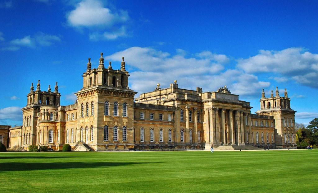 Blenheim Palace, Oxfordshire. Credit Baz Richardson, flickr