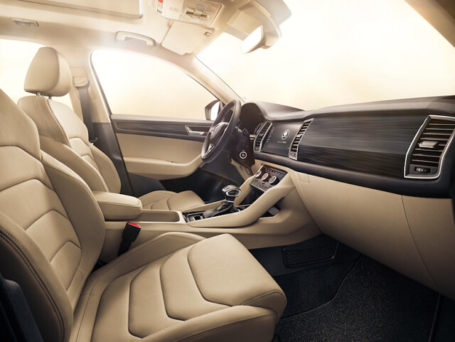 Skoda Kodiaq- Interior-Launch in UAE Carbonoctane
